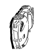Automobile da colorare 223
