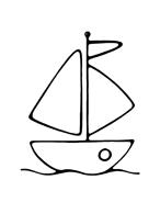 Nave e barca da colorare 42