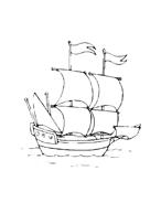 Nave e barca da colorare 45