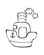 Nave e barca da colorare 47