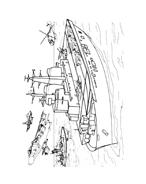 Nave e barca da colorare 57