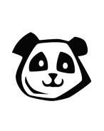 Panda da colorare 13