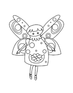 personaggio delle fiabe da colorare 9