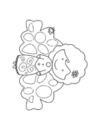 personaggio delle fiabe da colorare 11