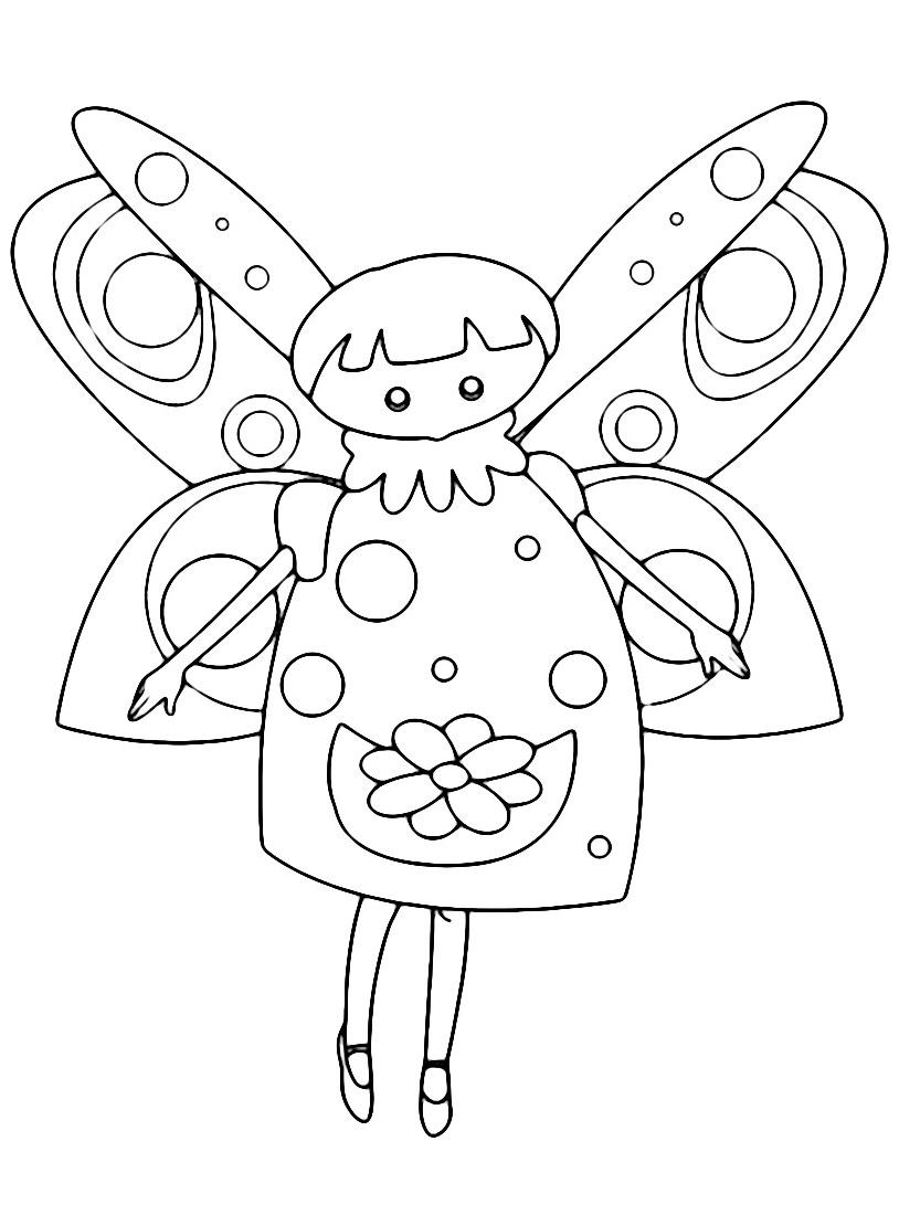 personaggio delle fiabe da colorare 13