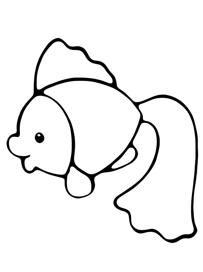 Pesce da colorare 24