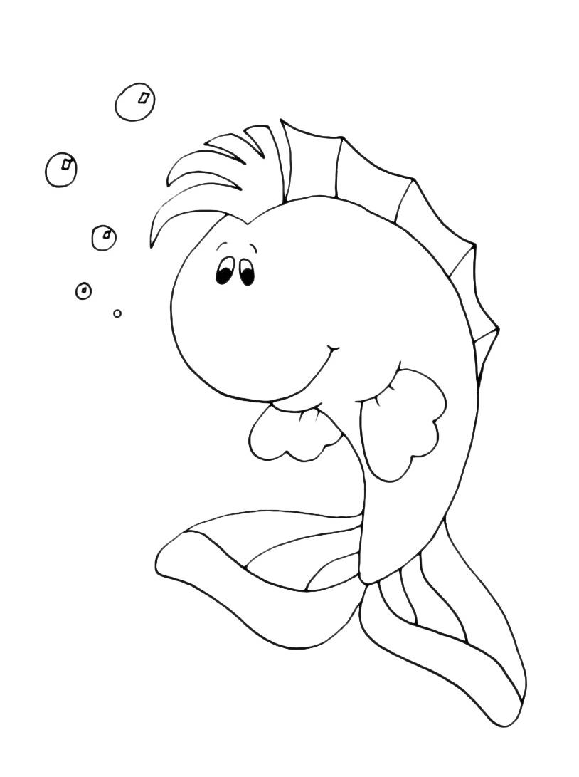 Pesce da colorare 43