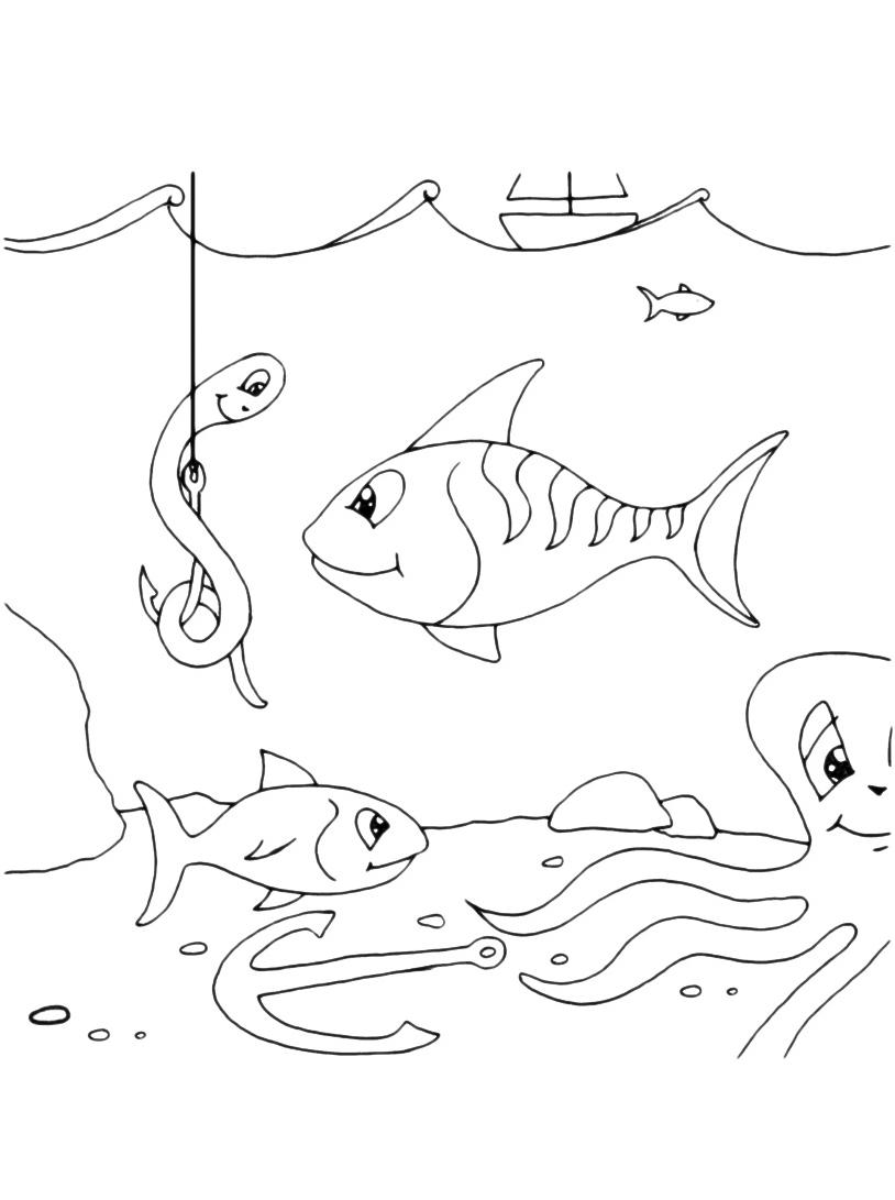 Pesce da colorare 44