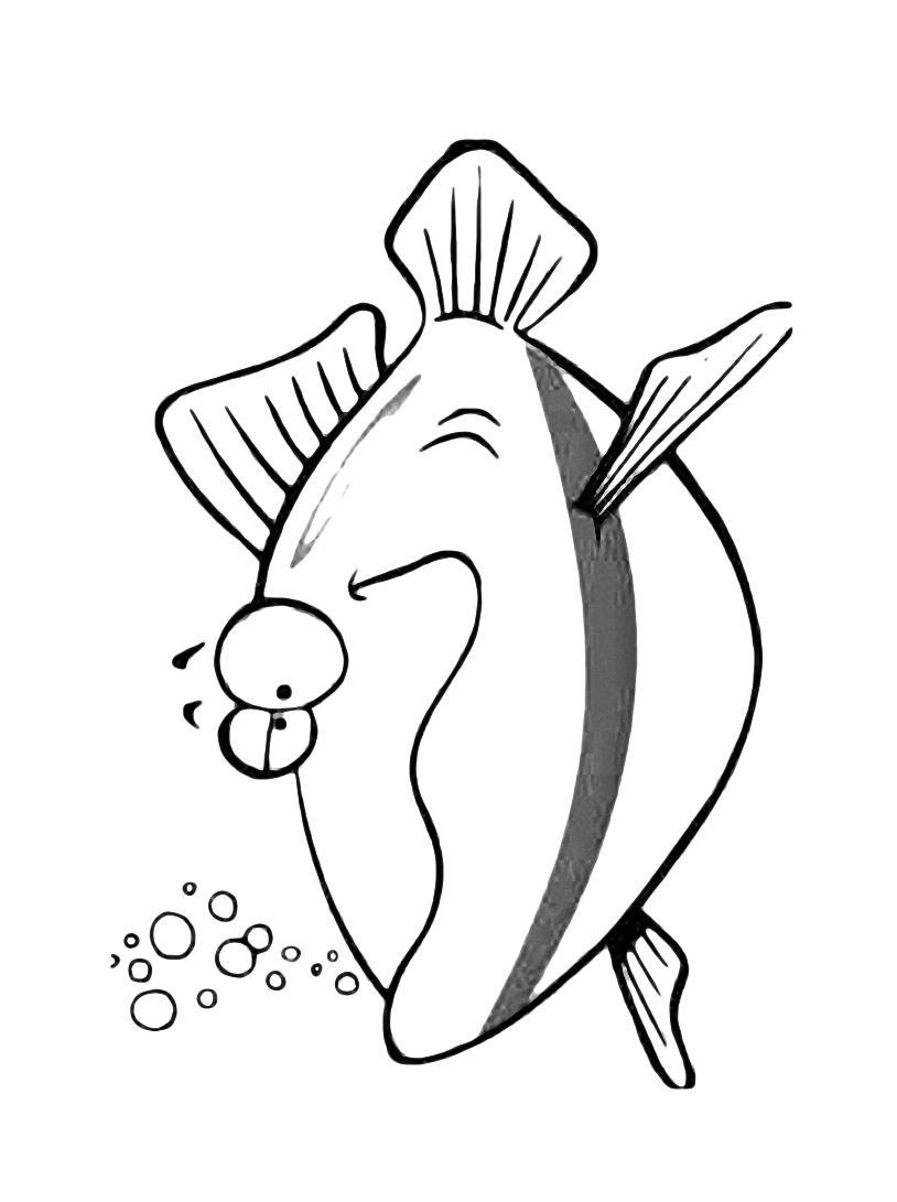 Pesce da colorare 47