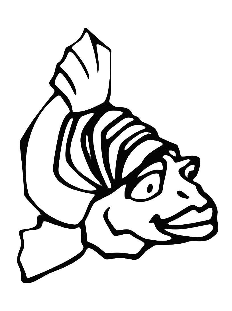 Pesce da colorare 52