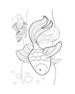 Pesce da colorare 55