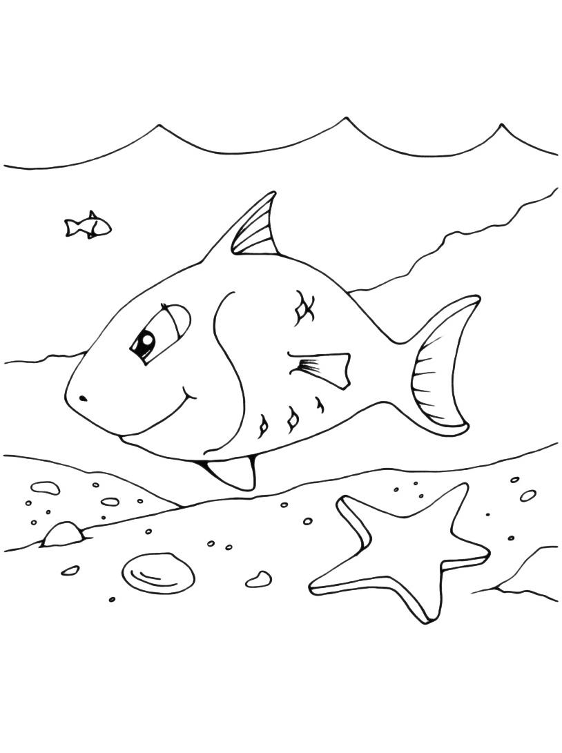 Pesce da colorare 56