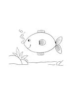 Pesce da colorare 62