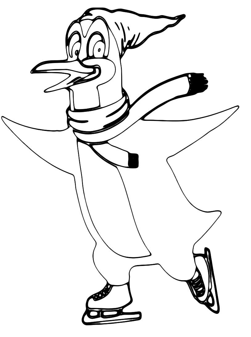 Pinguino da colorare 21