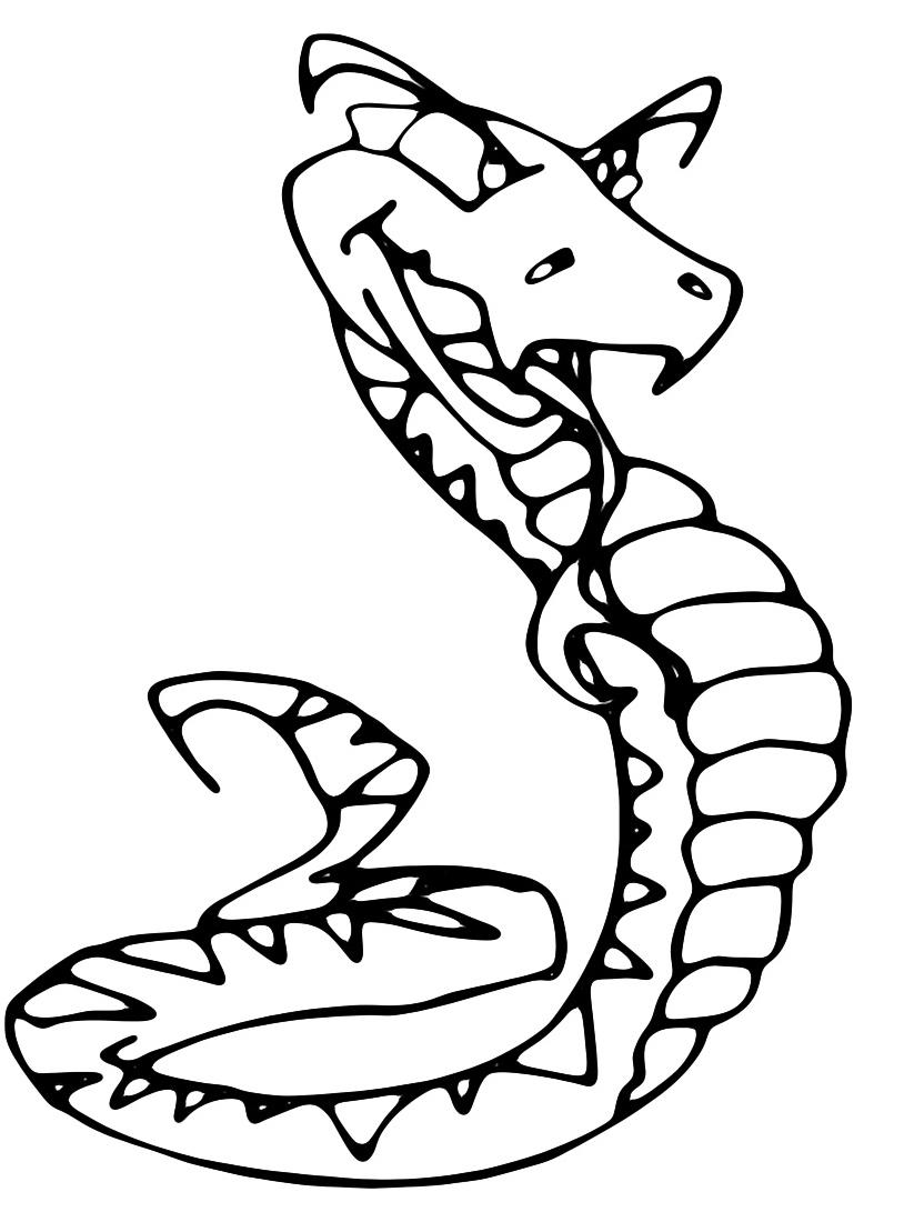 Serpente da colorare 20