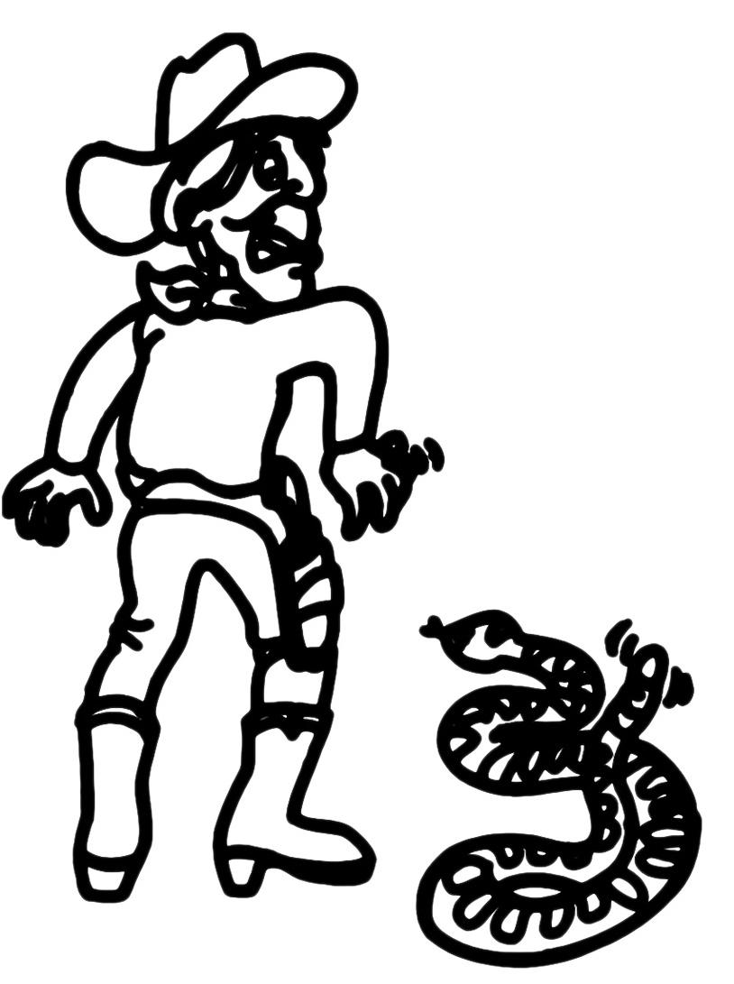 Serpente da colorare 25