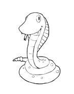 Serpente da colorare 35
