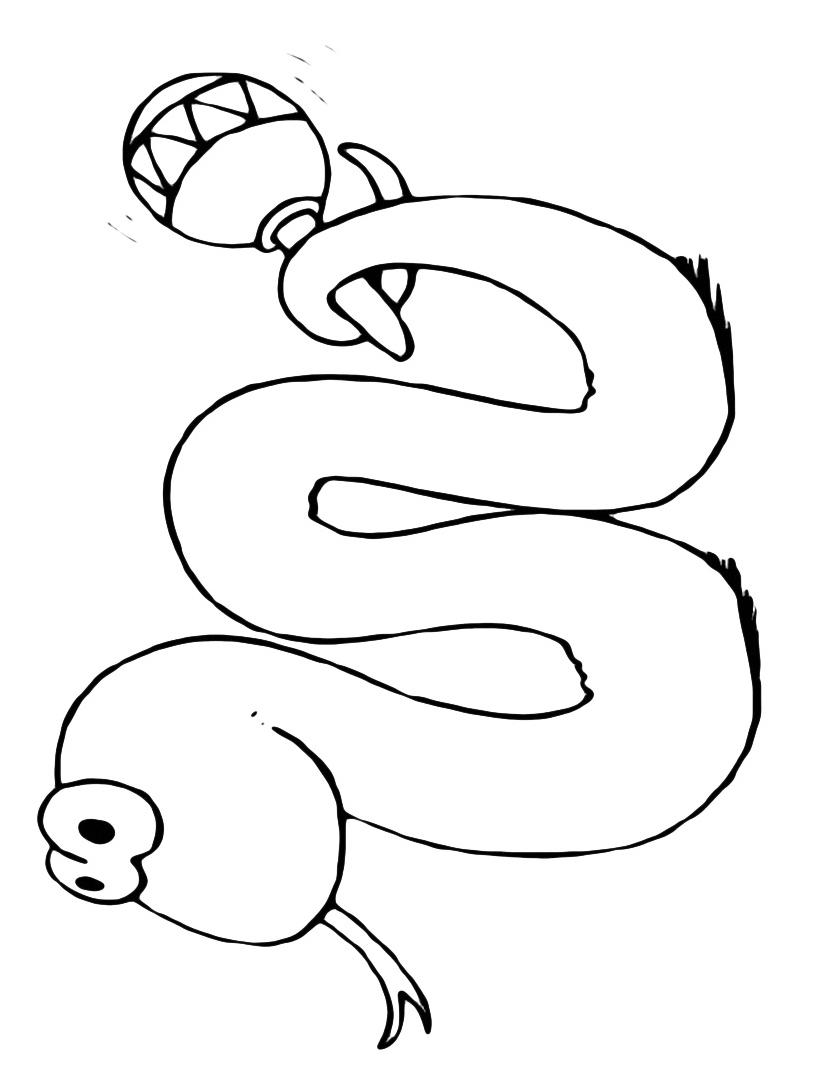 Serpente da colorare 49