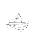 Sottomarino da colorare 6