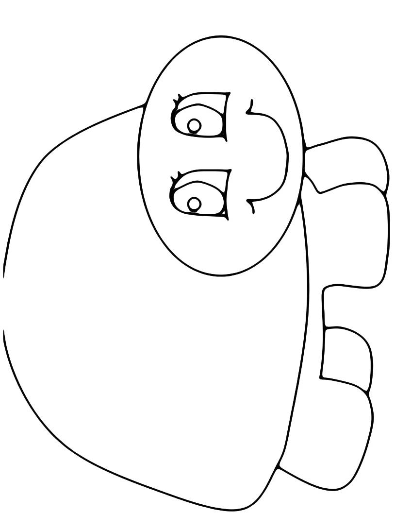 Tartaruga da colorare 9