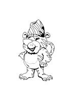 Tigre da colorare 6
