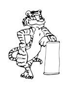 Tigre da colorare 12
