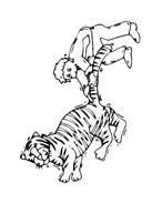 Tigre da colorare 14
