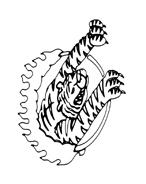 Tigre da colorare 19