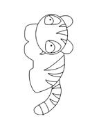 Tigre da colorare 20