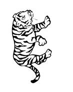 Tigre da colorare 23