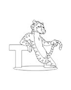 Tigre da colorare 26