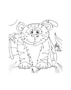 Tigre da colorare 32