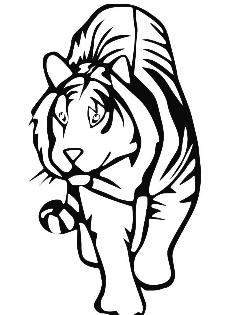 Tigre da colorare 34