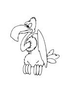 Uccello da colorare 90