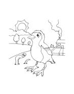 Uccello da colorare 94