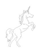Unicorno da colorare 57