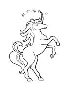 Unicorno da colorare 61