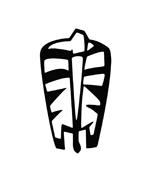 Zebra da colorare 11