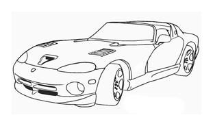 Automobile da colorare 233