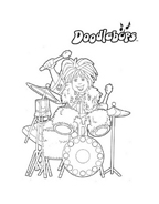 Doodlebops da colorare 6
