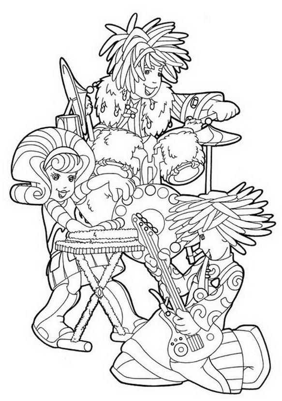Doodlebops da colorare 7