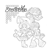 Doodlebops da colorare 8