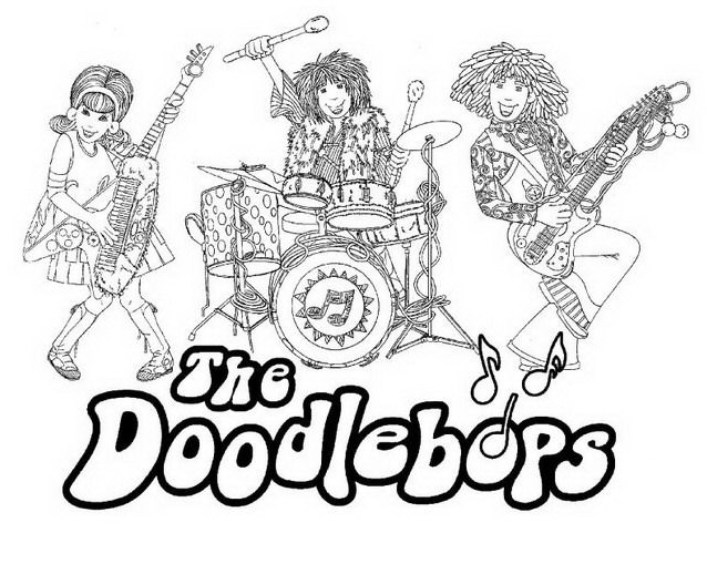 Doodlebops da colorare 10