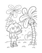 Dora l'esploratrice da colorare 58
