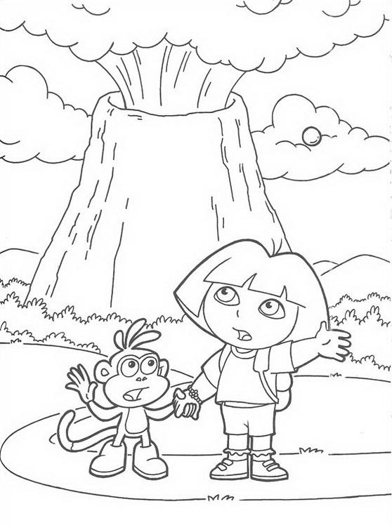 Dora esploratrice da colorare 172