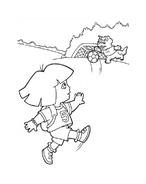Dora l'esploratrice da colorare 196