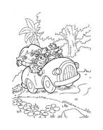 Dora l'esploratrice da colorare 198