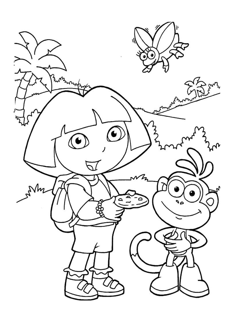 Dora esploratrice da colorare 237