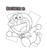 Doraemon da colorare 3