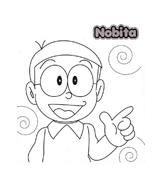 Doraemon da colorare 4
